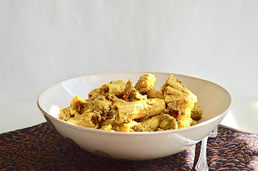Mint Pistachio Pesto Chicken Pasta