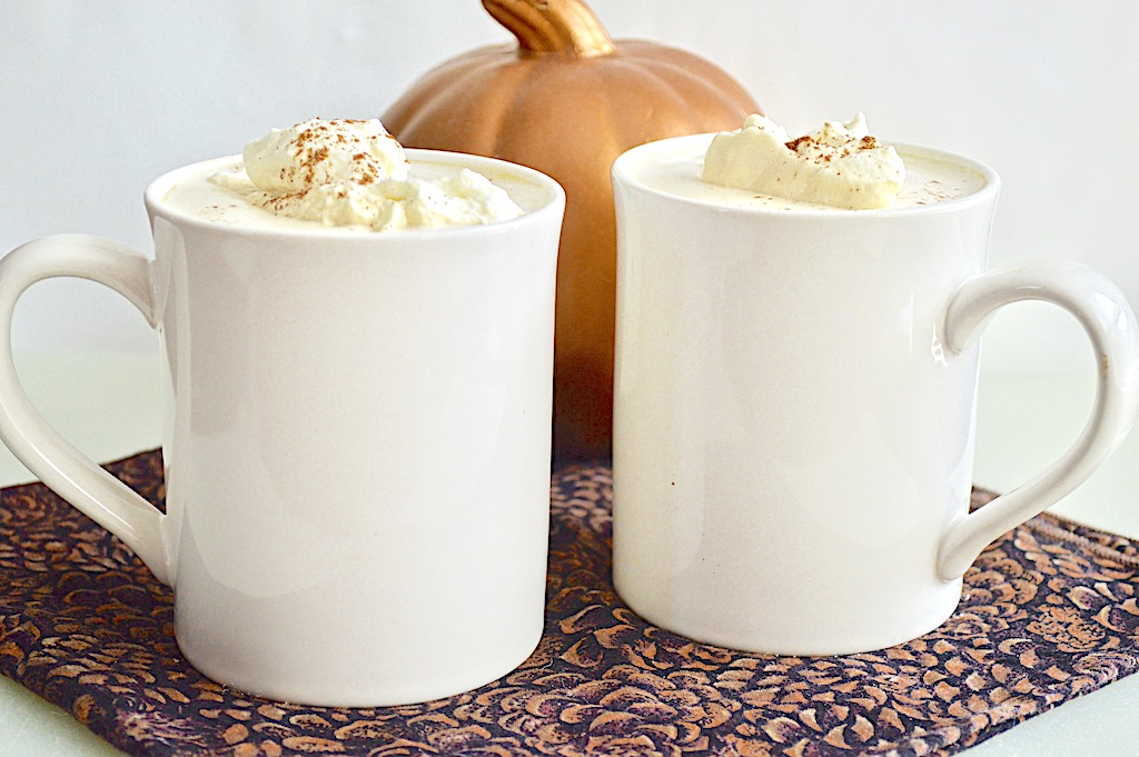 Slow Cooker Pumpkin Spiced Lattes