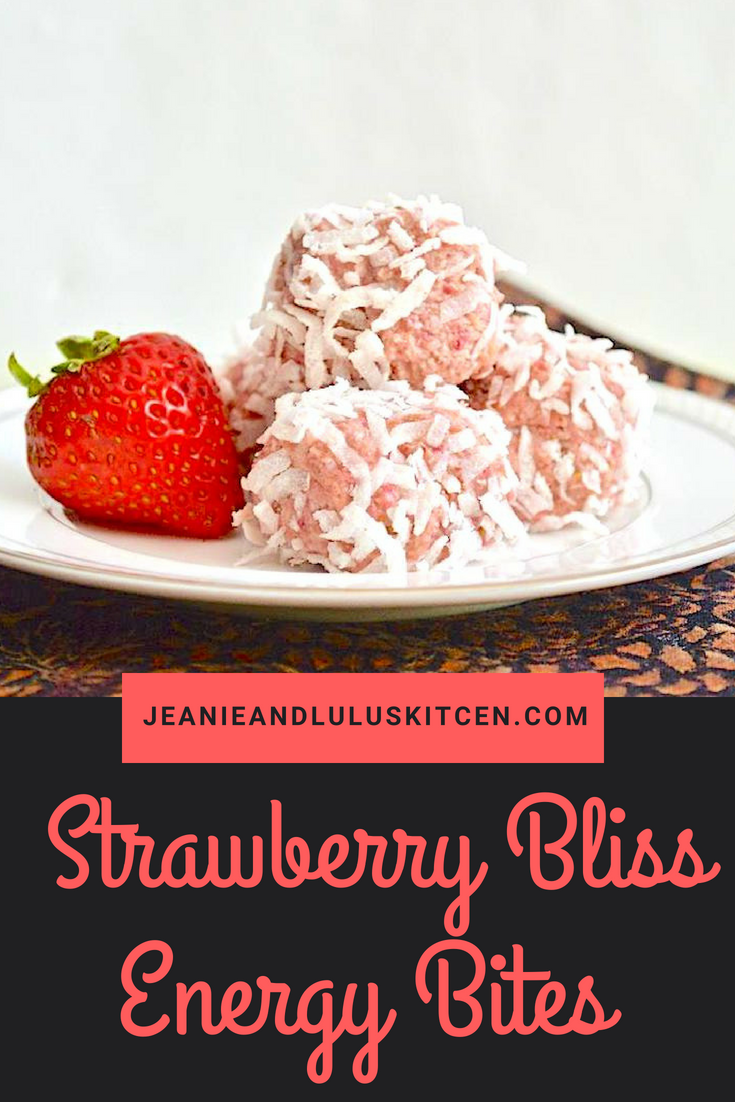 Strawberry Bliss Energy Bites