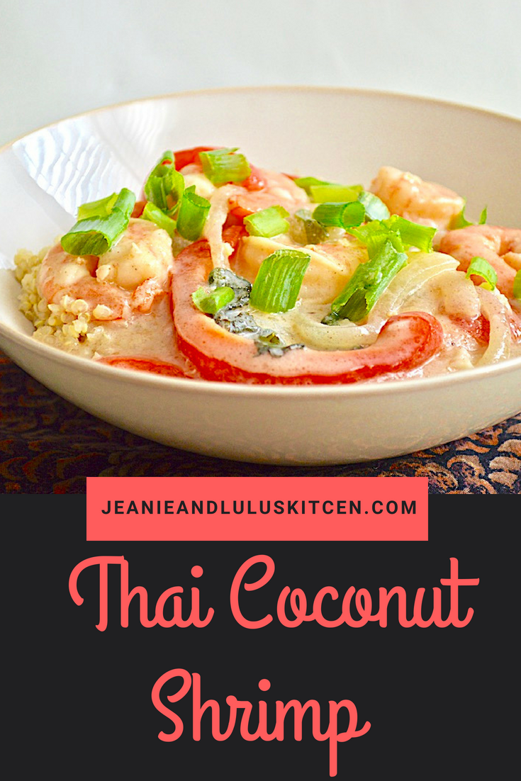 Thai Coconut Shrimp