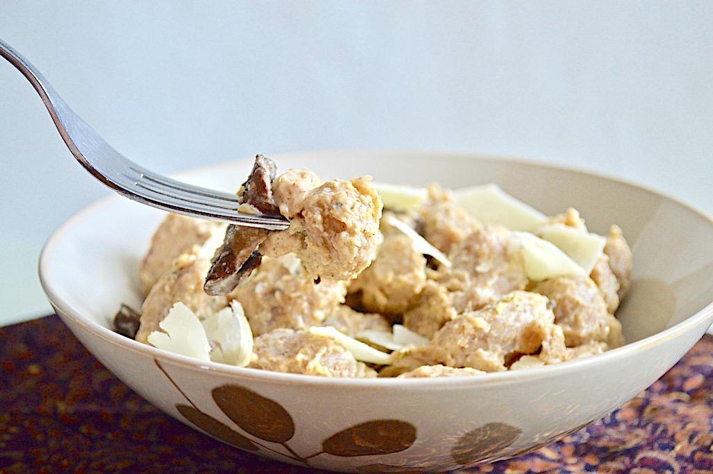 Parmesan Cream Chicken and Gnocchi