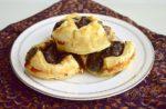 Mushroom Gouda Puffs
