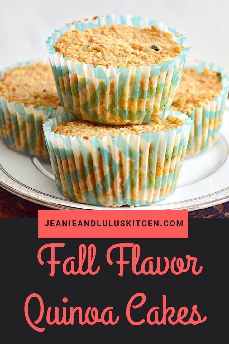 Fall Flavor Quinoa Cakes
