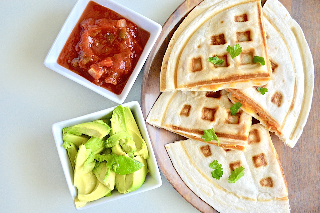 Sweet Potato Black Bean Quesadillas