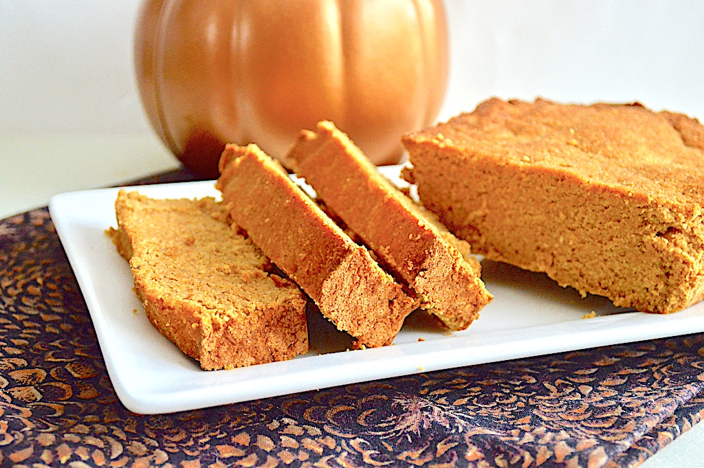 Pumpkin Bourbon Loaf