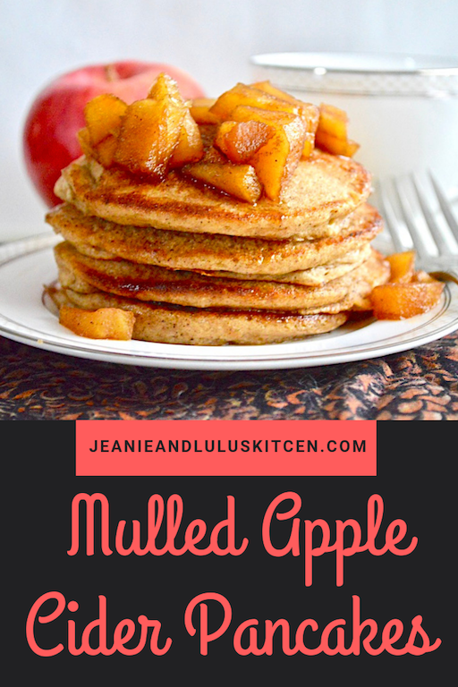 Mulled Apple Cider Pancakes
