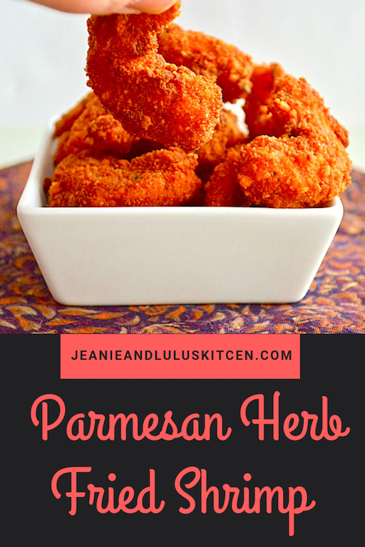 Parmesan Herb Fried Shrimp