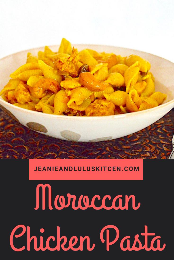Moroccan Chicken Pasta