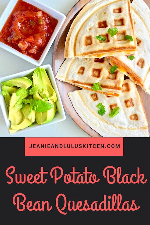 Sweet Potato Black Bean Quesadillas