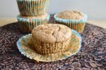 Spiced Banana Almond Butter Muffins