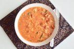 Red Lentil Gnocchi Stew