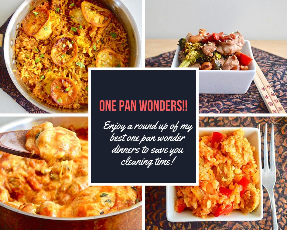 One Pan Wonder Dinners