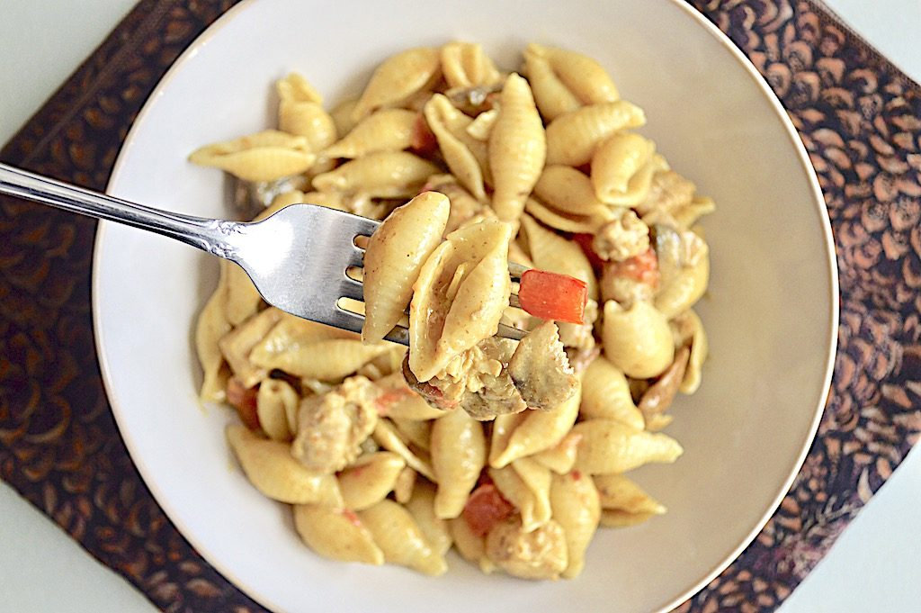 Coconut Curry Chicken Pasta