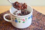 Flourless Bailey's Chocolate Mug Cake