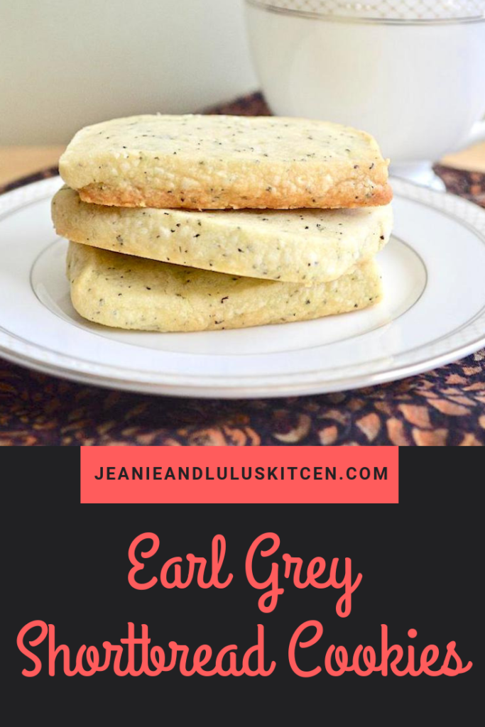 These earl grey shortbread cookies are so buttery, simple and gorgeous! They're just made for enjoying at afternoon tea or for dessert.