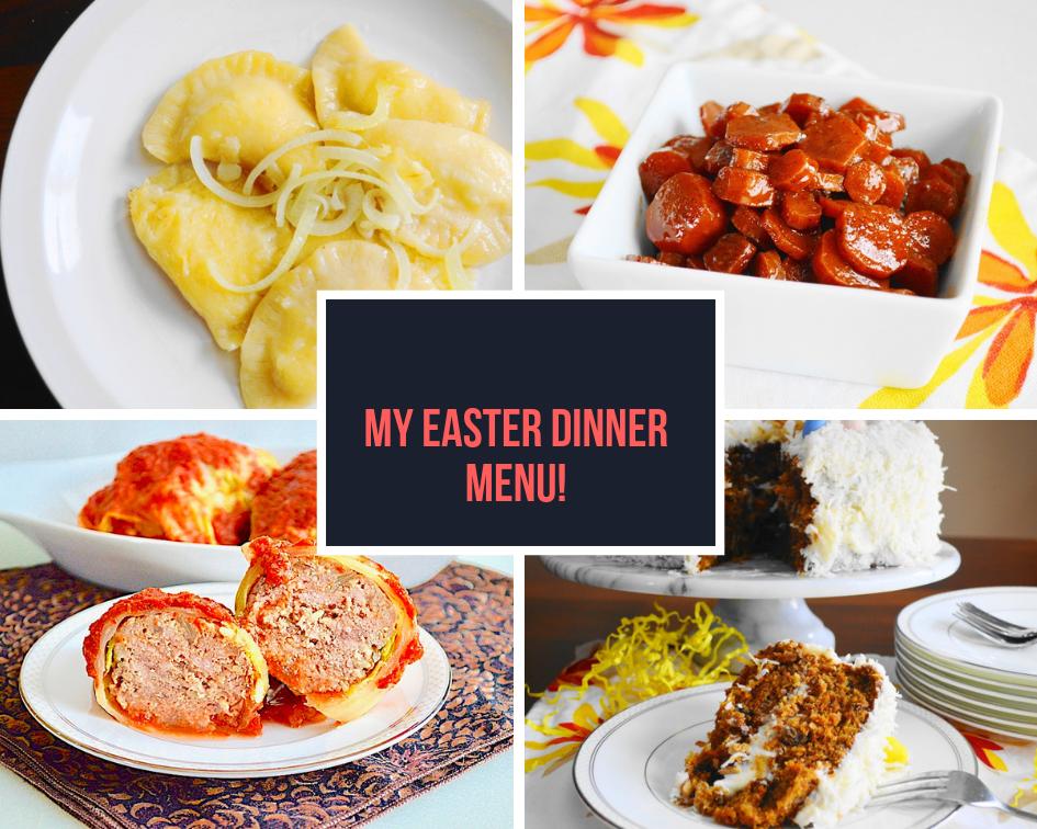 Easter Dinner Menu