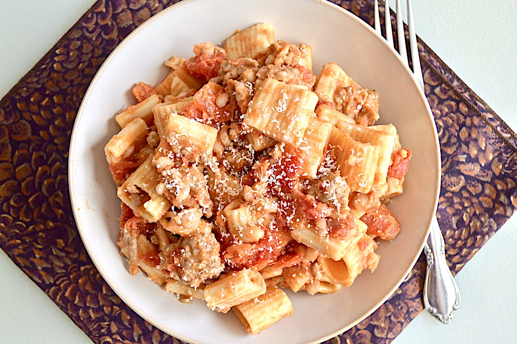 Pork and Beans Pasta