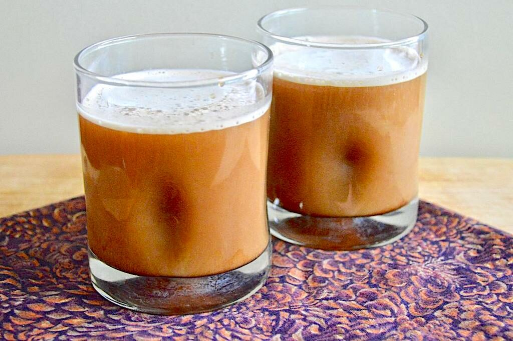 Cold Brew Coffee with Cold Foam