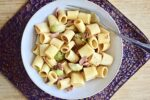 Brussel Sprout and Bacon Pasta