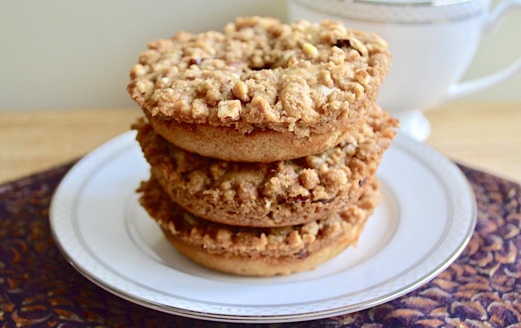 Cinnamon Buttermilk Crumb Donuts